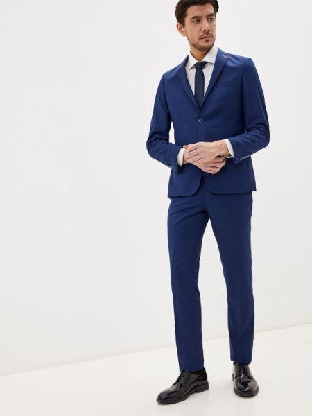 Синий костюмный костюм классический Parlamenter