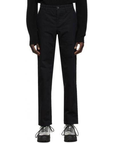 Bawełna bawełna czarny spodni spodnie Norse Projects