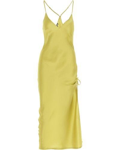 Żółta sukienka Fisico