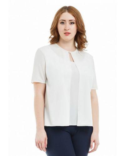 Блузка белая осенняя Xlady