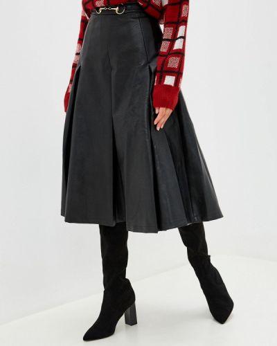 Кожаная юбка черная Sister Jane