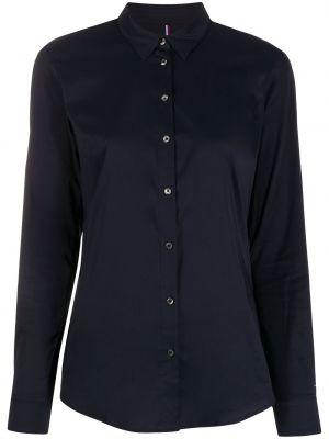 Длинная рубашка - синяя Tommy Hilfiger