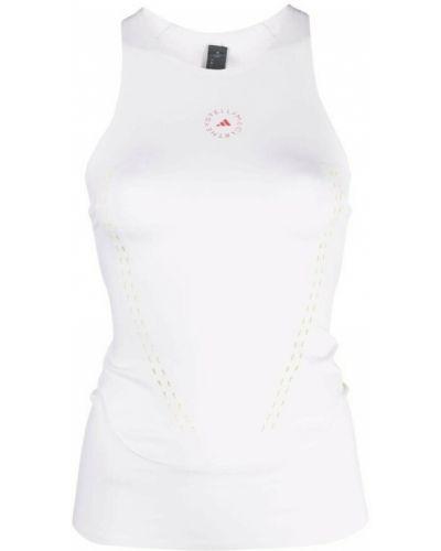 Biała tank top Adidas By Stella Mccartney