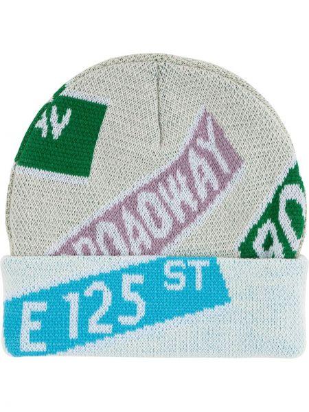 Beżowa czapka beanie Supreme