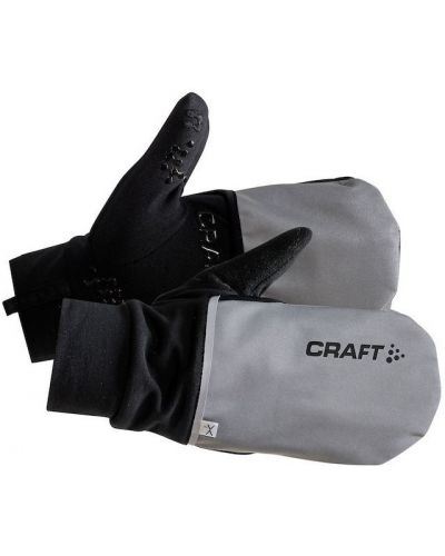 Czarne rękawiczki Craft