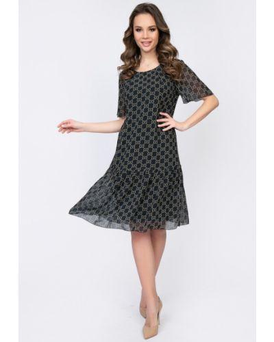 Свободное повседневное шифоновое платье Diolche