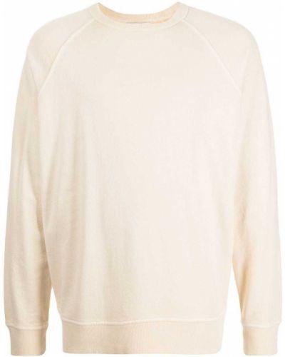 Biała bluza z długimi rękawami Ymc