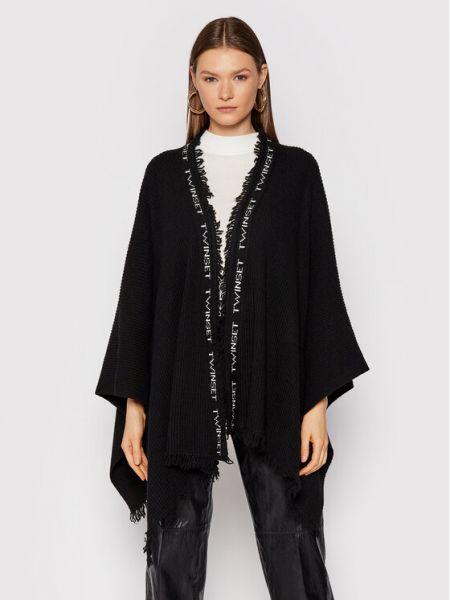 Sweter - czarny Twinset