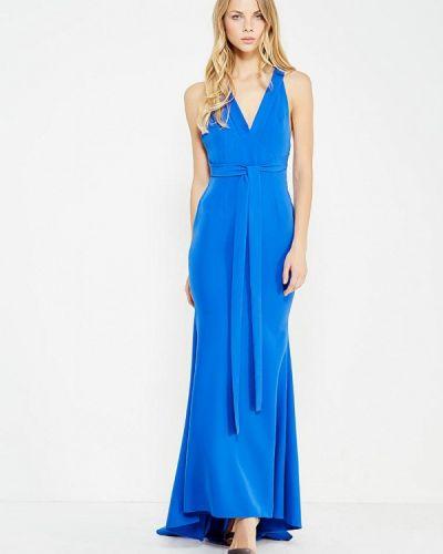 Синее вечернее платье Mirasezar