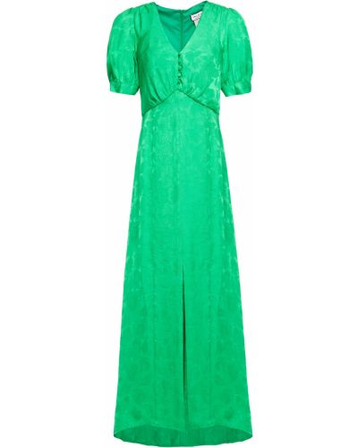 Платье макси - зеленое Paul & Joe