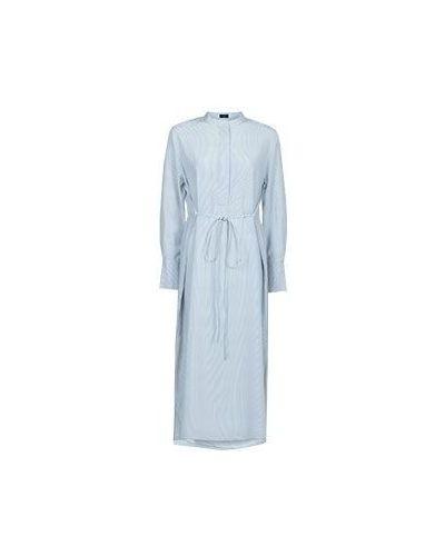 Платье миди синее Joseph