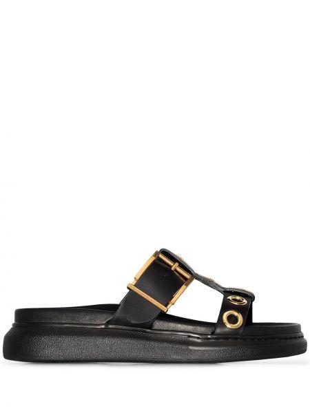 Skórzany sandały Alexander Mcqueen