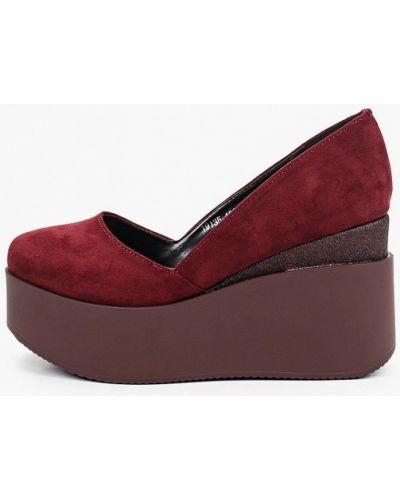 Красные туфли закрытые Ridlstep