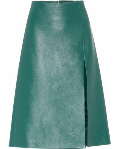 Юбка миди в рубчик Balenciaga