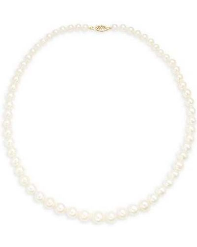 Ожерелье золотое с жемчугом с воротником Belpearl