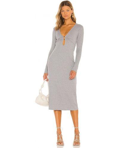 Трикотажное платье миди Suboo