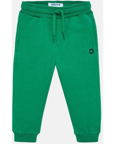 Spodnie wełniany zielony Mayoral