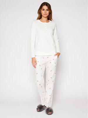 Biała piżama Triumph