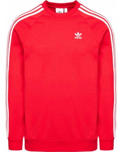 Czerwony bluzka Adidas Originals
