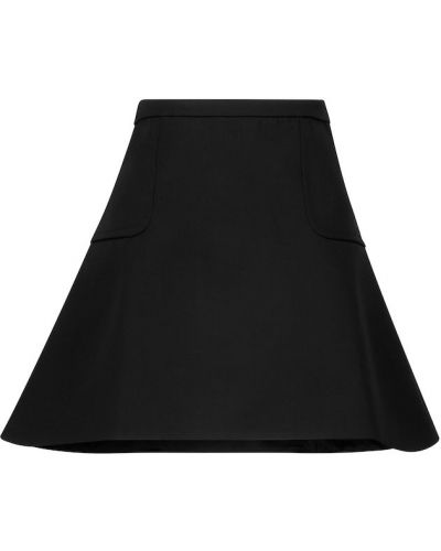 Spódnica rozkloszowana - czarna Coperni