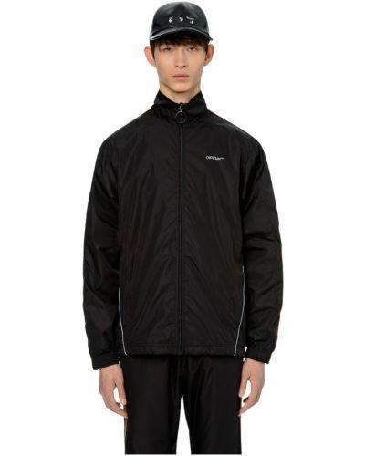 Czarna kurtka z nylonu Off-white
