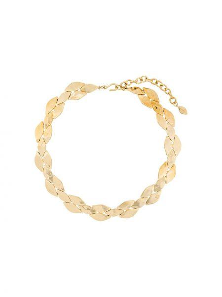 Золотистое ожерелье золотое металлическое Givenchy Pre-owned