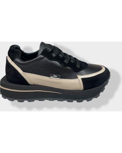 Кожаные кроссовки Olli