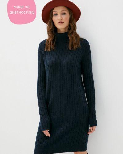 Синее вязаное платье Y.a.s