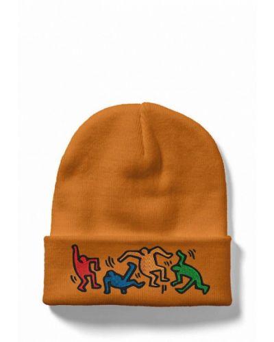 Желтая шапка Headway