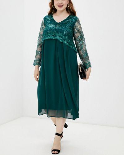 Вечернее платье - зеленое Prewoman