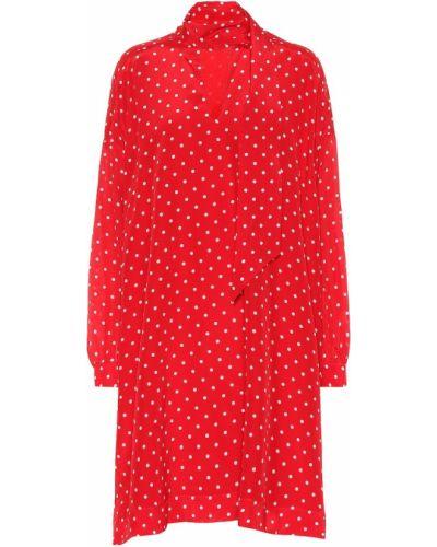 Платье шелковое Balenciaga