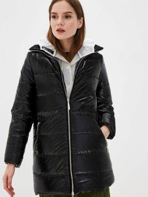 Утепленная куртка демисезонная черная Imperial