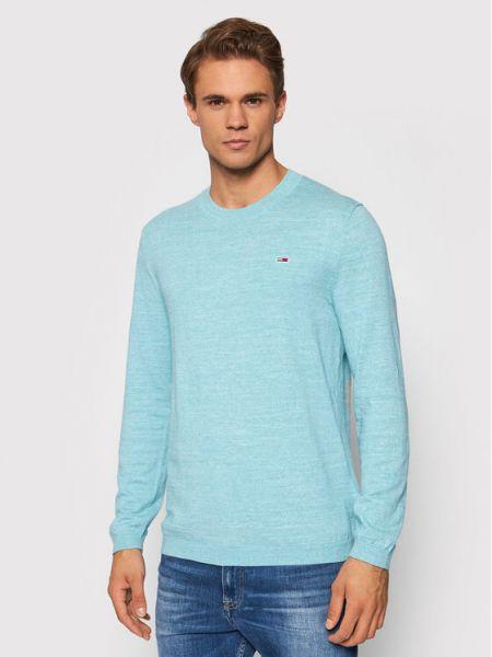 Sweter - niebieski Tommy Jeans
