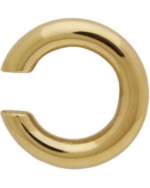 Kolczyki złoto z logo All Blues