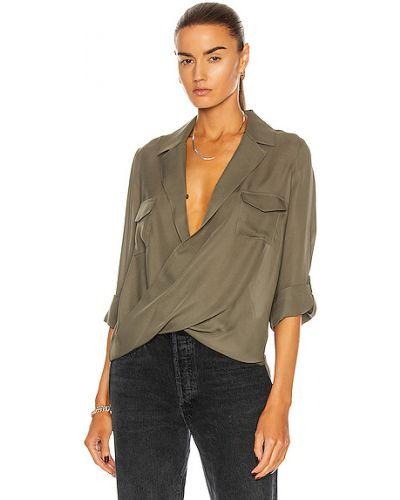 Шелковая блузка L'agence