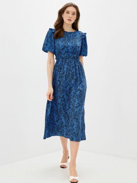 Синее платье Topshop