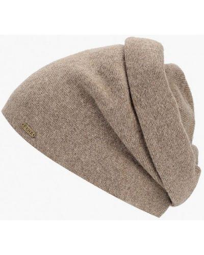 Бежевая шапка осенняя Ferz