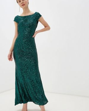 Вечернее платье осеннее зеленый Goddiva