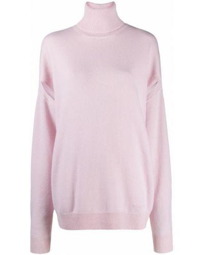 Różowy sweter Givenchy
