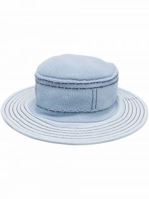 Niebieski kapelusz bawełniany Barrie