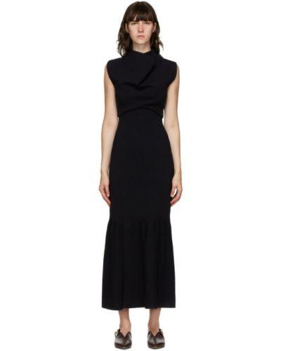 Шерстяное платье с воротником без рукавов с подкладкой 3.1 Phillip Lim