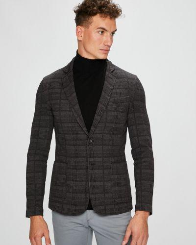 Серый костюм классический Trussardi Jeans