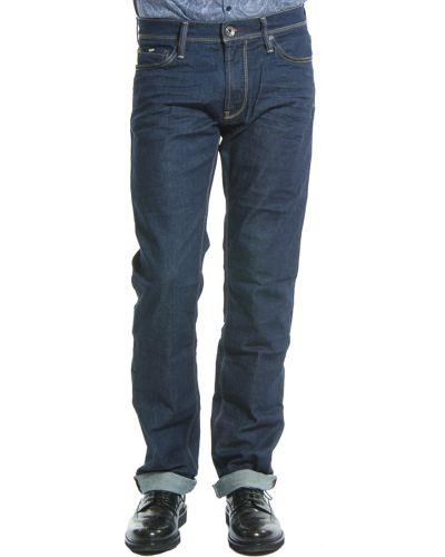 Хлопковые джинсы - синие Gas