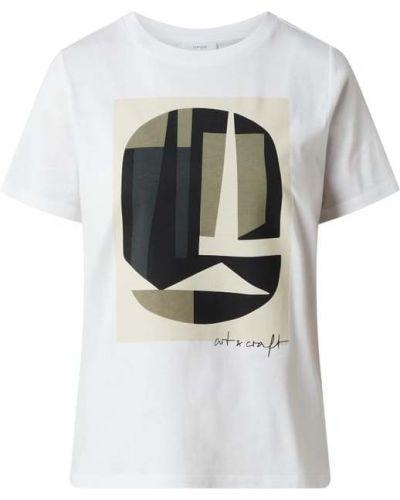 T-shirt z printem - zielona Opus