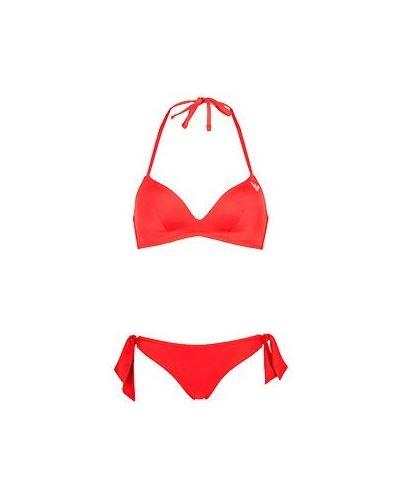 Красный купальник Emporio Armani