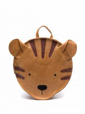 Brązowy plecak skórzany Donsje