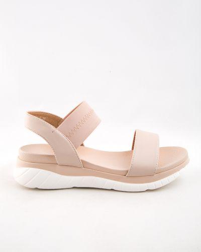 Розовые туфли из искусственной кожи Stefaniya Nina