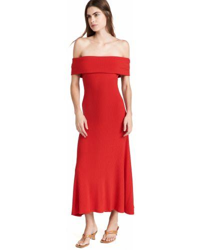 Sukienka prążkowana Mara Hoffman