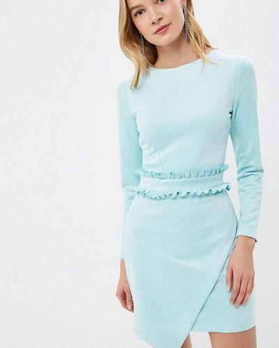 Платье голубой весеннее Love Republic