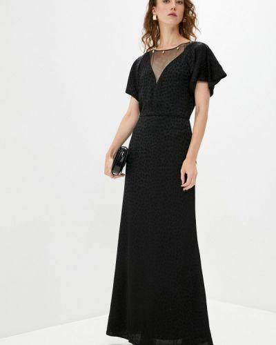 Повседневное черное платье Cavalli Class